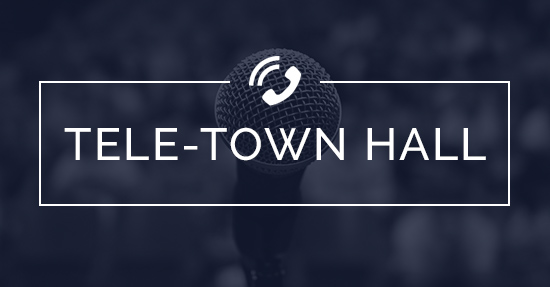 Tele-town hall signup
